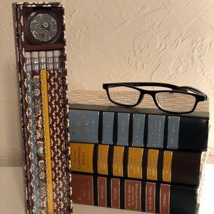 "Vera Bradley ""Slate Blooms"" Pencil Box. NWOT"